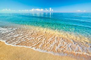 beach shore horizon