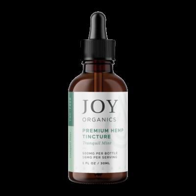 Joy Organics tincture mint 500mg