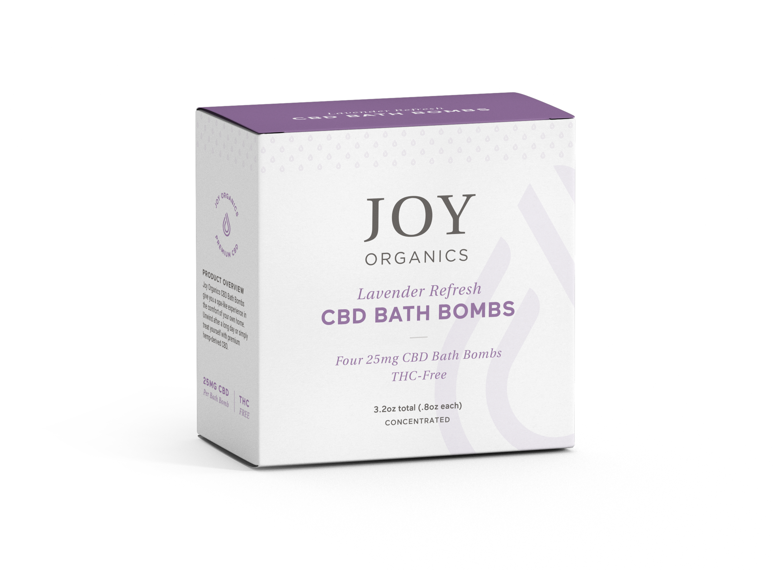 joy organics CBD bath bomb box 300