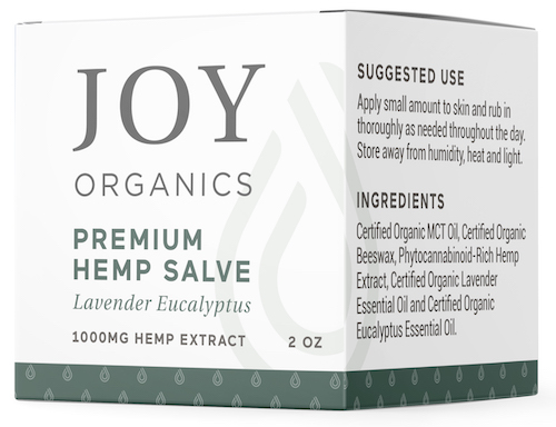 joy organics salve box 2oz 1000mg box