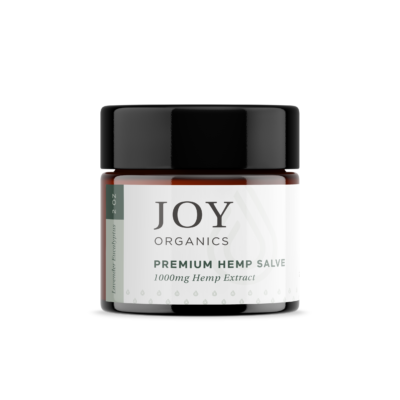 Joy Organics salve jar 2oz 1000mg