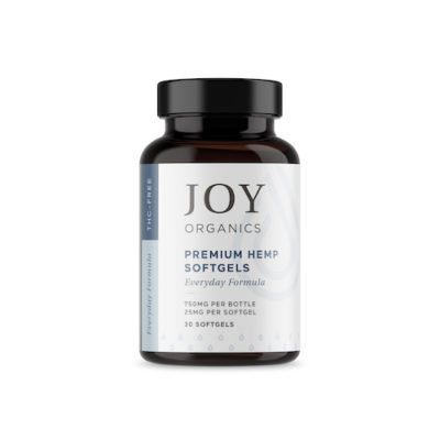 joy organics softgels 25 mg each