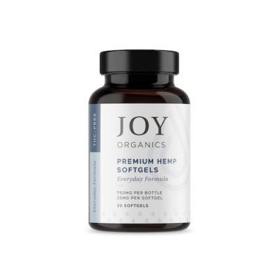joy organics softgels 25 mg each
