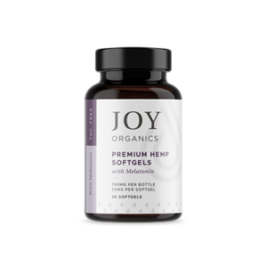 joy organics softgels melatonin 750mg