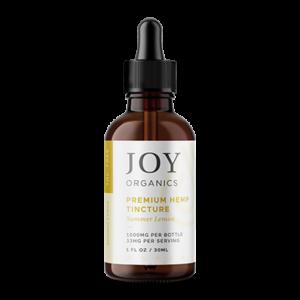 joy organics tincture lemon 1000mg