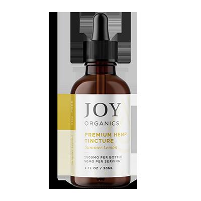 joy organics tincture lemon 1500mg