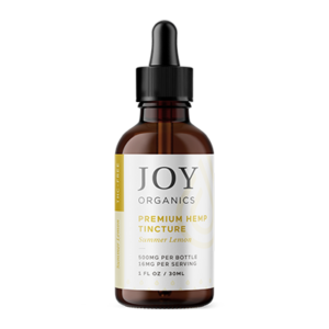 joy organics tincture lemon 500mg