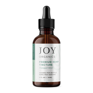 joy organics tincture mint 1500mg