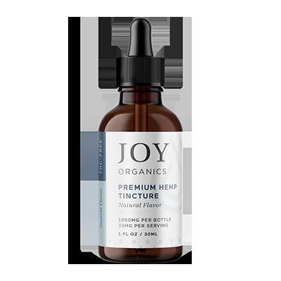 joy organics tincture natural 1000mg