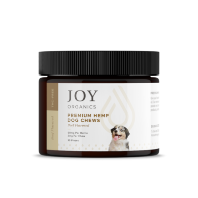 CBD pet treats and products