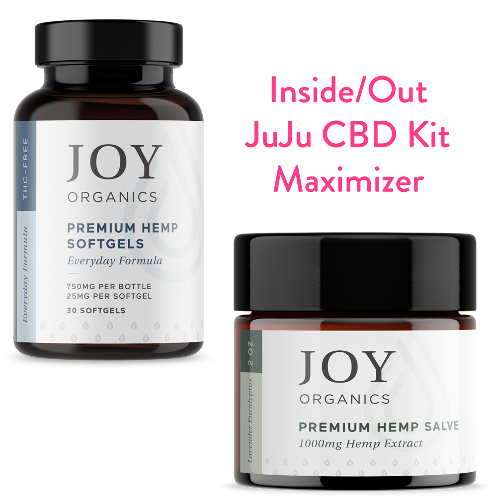 inside out CBD bundles with softgels and salve max