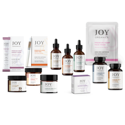 joy organics group of products