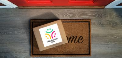 cbd home delivery good juju club logo