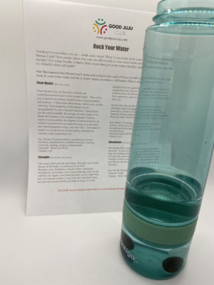drinking crystals in water with instructions