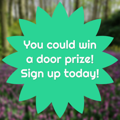 you could win a door prize