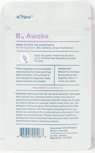 be awake back