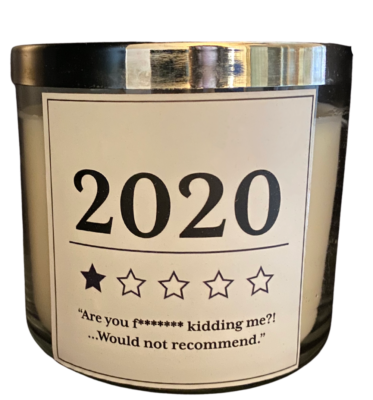 2020 candle one star