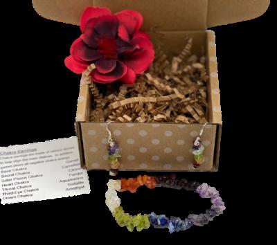 chakra jewelry in box