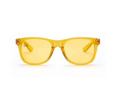 yellow glasses front