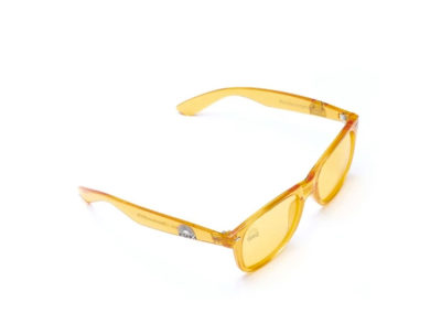 yellow glasses side