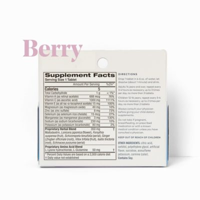 berry ingredients